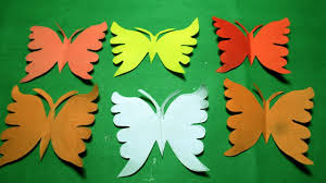 Paper Cutting Design How To Make Paper Cutting Butterfly Diy Kirigami Tutorial Step By Step