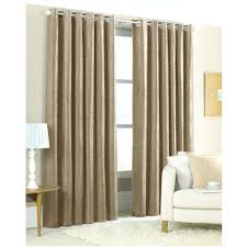 faux silk curtains white lined natural eyelet plain