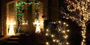 outdoor angel christmas decorations restaurant decorating ideas lighted