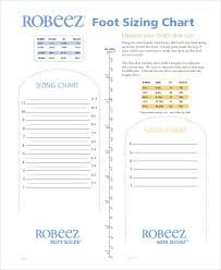 Printable Shoe Size Chart 9 Free Pdf Documents Download