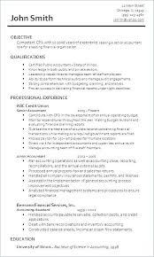 Resume Accountant Sample Sample Resume For Accountant Resume