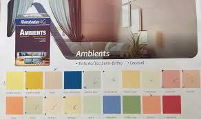 A cor ocre também é um dos tons de terra mais utilizados na pintura de casas em geral como alternativa mais suave ao amarelo, uma cor vibrante e luminosa. Tinta Semi Brilho Ambients Hidrotintas Gold Casa Materiais De Construcao