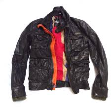 superdry motorcycle falcon darkest brown flag leather faux fur jacket small mens superdry hi tops superdry guarantee 100 high quality