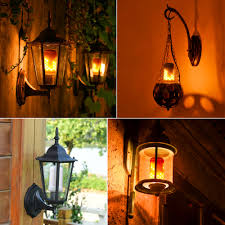 110v 220v e27 e26 led lamp fire flame effect led bulb light emulation fire flicker burning flameless lantern holiday decor lamp