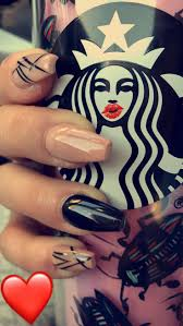 Best 20 Black acrylic nails ideas on Pinterest