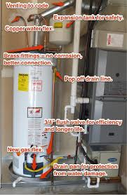 water heater drain pan installation. Modren Drain In Water Heater Drain Pan Installation P