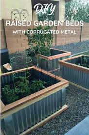 i love my raised garden beds the perfect easy box flower with rocks corrugated metal how to build raised garden beds