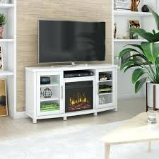entertainment console with electric fireplace rossville tv stand for tvs up to 60 with electric