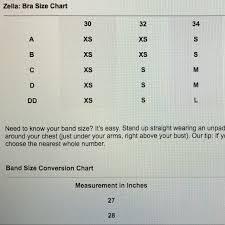 Zella Sports Bra Size Chart 1000 Followers Z By Zella Solid Sports Bra