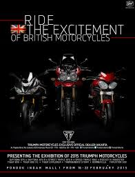 ride the excitement of british motorcycles a triumph jakarta