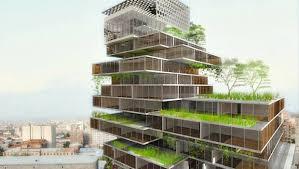 green office building. Green Office Building L