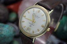 mens lucien piccard 14k watch vintage lucien piccard seashark deep water 14k solid yellow gold men s watch