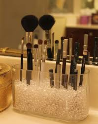 brush holder beads. how to make up brushes loveleighbeauty diy makeup brush holder beads