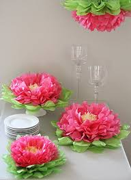 tissue paper flower centerpiece ideas amazon com butterfly craze girls party decorations set of 7 pink