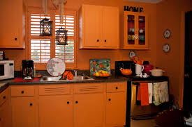 Orange Kitchen Paint The Kitchen Orange Sassy Living Below The Mason Dixon Line