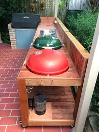 diy grill table how to build a grill table woodworking projects plans diy weber grill table diy grill