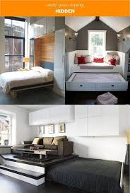 sleeping solutions for small spaces.  Sleeping HIDE IT Make Use Of Unused Space Or Get Creative With Your Furniture  Choices To Have An Extra Bed Available When You Need It But Completel Throughout Sleeping Solutions For Small Spaces Pinterest