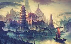 Asian archtechture and art