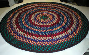 eye catching round braided rugs nuloom 200mgnm04a 606r casual handmade cotton multi rug 6