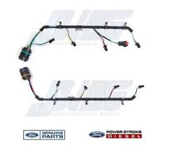 6 4l powerstroke diesel oem genuine ford fuel injector wiring ford 5.8 efi wiring harness image is loading 6 4l powerstroke diesel oem genuine ford fuel