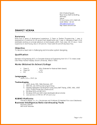 7 Current Resume Styles Authorized Letter