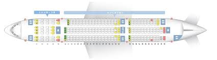 seat map of the of the boeing 787 8 788