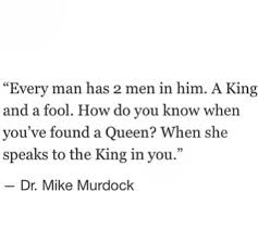 Mike Murdock The King And The Queen Quote Best King And Queen Quotes Images