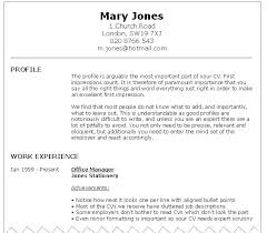 An Example Of A Good Resume Resume Good Example Example Great Resume