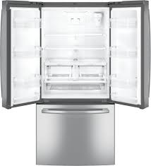 refrigerator 69 inches tall. ge gne25jskss - open view refrigerator 69 inches tall