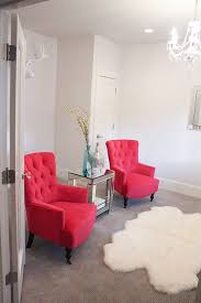 Red Accent Chairs For Living Room Brilliant Endearing Chair With