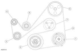 how can i get a diagram of the belts for a 2007 ford fusion graphic