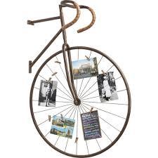 bicycle wall art memo holder keens