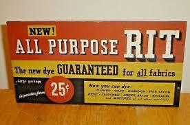 Rit Fabric Dye Color Chart Original Antique All Purpose Rit Fabric Dye Store