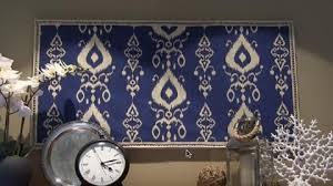 on fabric wall art diy with brilliant diy fabric wall art pottery barn inspired