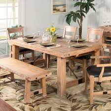 sandalwood extension dining table