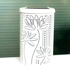 decorative covers advertising outdoor trash can garbage outdoor trash cans commercial