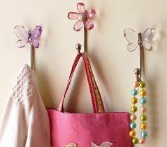cute wall hooks from pottery barn kids