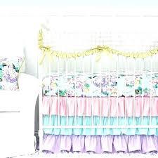lavender baby bedding lavender crib bedding sets hydrangea ruffle baby bedding pastel pink blue lavender crib