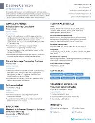 Resume Newesume Format Examples Modern Template Marvelous