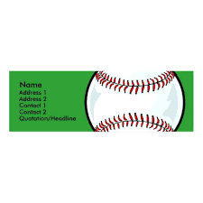 Free Profile Templates Gorgeous Baseball Business Card Templates Free Images By Profile Template