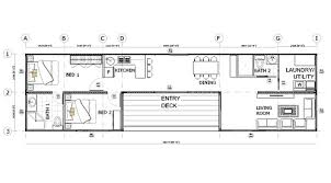 >shipping container home floorplans   2 x 40ft single bedroom container house