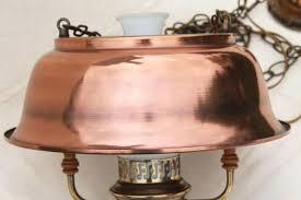 vintage farmhouse lighting. Antique Farmhouse Lighting Vintage Kitchen Pendant Lamp Hanging Light W Copper Color Metal Shade . E