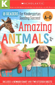 Buy Amazing Animals Kindergarten A D Reader Box Set By