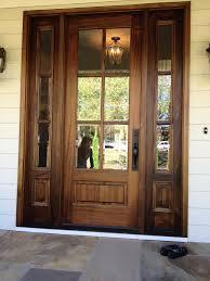 wood glass door design ideas