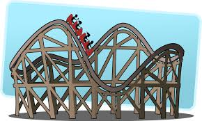Image result for build a roller coaster clipart