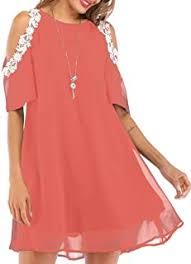 Chiffon Summer Dress - Amazon.com