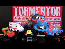 2013 NEW Monster Truck Mater Cars Toon Tormentor, Frightning McMean ...