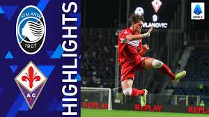 Atalanta 1-2 Fiorentina   Vlahovic stuns Atalanta with a brace