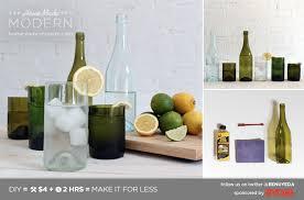 homemade modern diy ep1 1 wine bottle glasses postcard