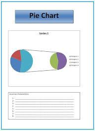 Pie Chart Templates 4 Printable Pdf Excel Word Sampleformats